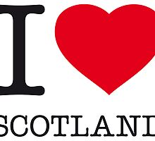 I ♥ SCOTLAND by eyesblau