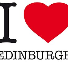I ♥ EDINBURGH by eyesblau