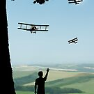 Childhood Dreams - The Flypast by John Edwards