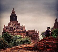 Bagan Pagodas by RoamingRoan