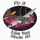 B-17 Flying Fortress Fly It Like You Stole It by hotcarshirts