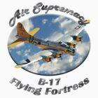 B-17 Flyng Fortress Air Supremacy by hotcarshirts