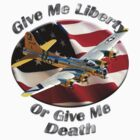 B-17 Flying Fortress Give Me Liberty by hotcarshirts