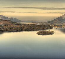 Derwentwater From Surprise View by Jamie  Green