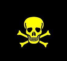 Smartphone Case - Pirate Flag (10) by Mark Podger