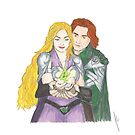 Sigyn and Loki by Jessica Caldwell