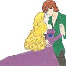 Sigyn and Loki Dance by Jessica Caldwell