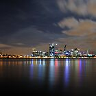 Perth City Skyline by Richard Owen