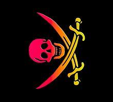 Smartphone Case - Pirate Flag (30) by Mark Podger