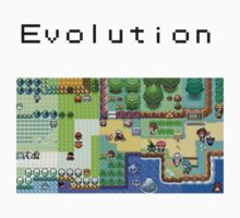 "Pokemon ""Missing the old days, Evolution"" by Kiuuby"