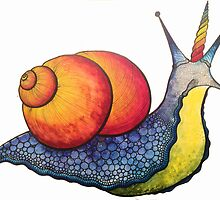Rainbow Snail-icorn by MicheleWiesen