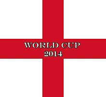 Smartphone Case - England Flag World Cup 2014 by Mark Podger