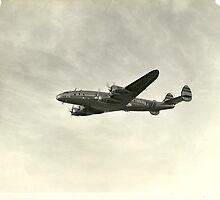 TWA Lockheed Constellation by John Schneider