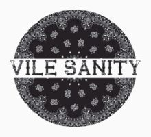 Vile Sanity Bandana Pocket Print by VileSanity