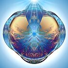 Spiral Blue Crystal Ball by barrowda