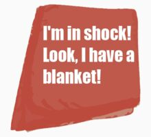 Sherlocks Shock Blanket by 221b-or-not-2-b