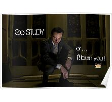 Go Study—James Moriarty v2 Poster