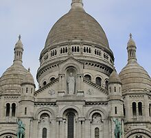 Basilica of Sacre-Coeur, Montmartre, Paris, France by BigBen2