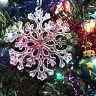 Snowflake Tree Ornament by BlueMoonRose
