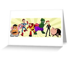 Toy Story Heroes Greeting Card