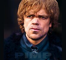 Tyrion Lannister - PIMP (iPad Case) by Surpryse