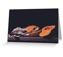 Butternut Squash Greeting Card