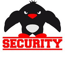 Security Muscle Penguin by Style-O-Mat