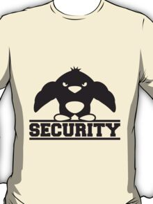 Security Muscle Penguin T-Shirt