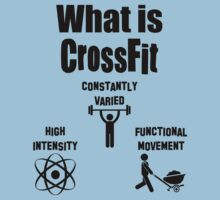 What is CrossFit (black ink) by Max Effort