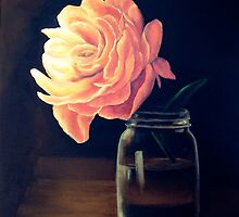 Flower and Jar by Colette Hope Marks