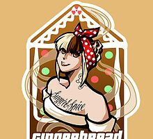Gingerbread Pin up by terrorbunny