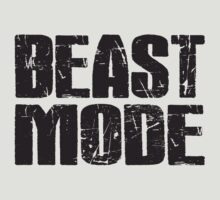 Beast Mode (black ink) Workout Tee. Crossfit Tee. Exercise Tee. Weightlifting Tee. Running Tee. Fitness by Max Effort
