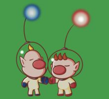 Captain Olimar and Louis by Jack-O-Lantern