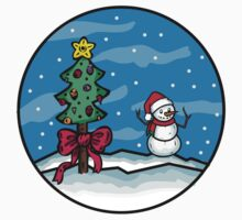 Christmas series - snowman by baylouis