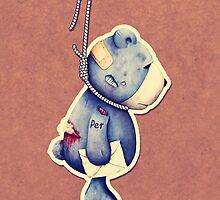 Petty bear by BumbleBeesh