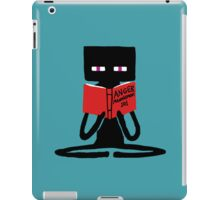 Enderman Self improvement iPad Case/Skin