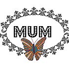 Decorative Butterfly Mum by kasseggs