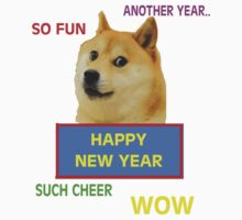 Doge - Happy New Year by designCENTRAL