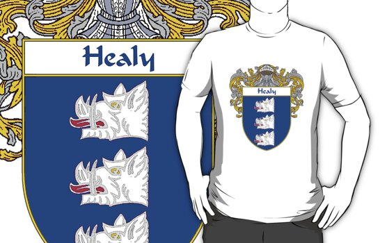Healy Coat of Arms/Family Crest by William Martin