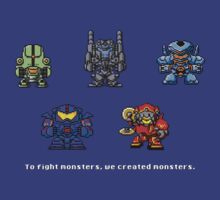8bit Jaegers by nonsoloart