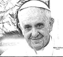 Pope Francis by Rafael Salazar