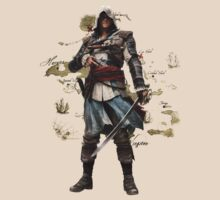 Edward Kenway by nonsoloart