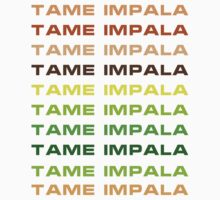 Tame Impala by Dotbar