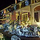 Santa's House, Christmas 2013 by Jane Neill-Hancock