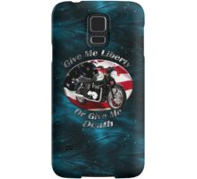 Triumph Bonneville Give Me Liberty Samsung Galaxy Case/Skin