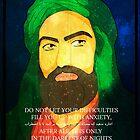Hazrat Ali, wiseman, figure, icon, wise, wisdom, quote, islam, muslim, hussain,, hassan, sahaba, imam by TishatsuDesigns