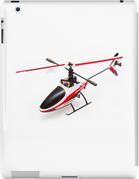 Remote control helicopter ipad cover by Martyn Franklin