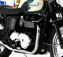Triumph Bonneville Drive It Like You Stole It Sticker