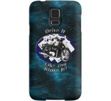 Triumph Bonneville Drive It Like You Stole It Samsung Galaxy Case/Skin