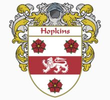 Hopkins Coat of Arms/Family Crest by William Martin